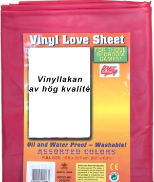 Vinyllakan enkelsäng