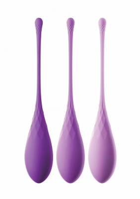 Set vaginalträning för bäckenbottenträning. Knipkulor förebygger framfall och inkontinensbesvär.